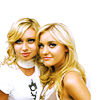 aly and aj close up
