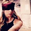 Buffy blindfolded