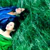 Пара в траве