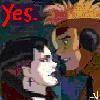 YES- jonda almost kiss