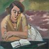 books - Matisse reading lady