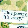 poetry - it's crazy!