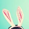 cranberryink: 0: bunny ears