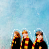 I'm Pro-Unicorn.: Harry Potter: Trio scarves!