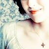 Elizabeth smiles