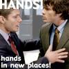 spn - dean/sam - hands
