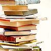 Julie: book stack