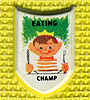 food eating champion, diet eating champion
