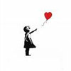 Banksy balloon heart