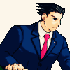 Phoenix Wright: this is my 'determination' face