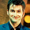 Dr Who - The Doctor smirks