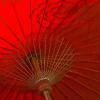 pretty - red parasol