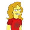 Yellow Simpsons Anne