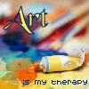 art is my therapy