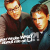 Mark: dw - The Doctor & Captain Jack - you wro