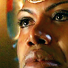 Teal'c close looking up