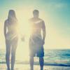 beach love, love