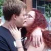 Noah: kissing krissy