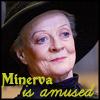 hp: minerva is amused