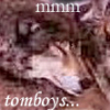 funny, wolves, wolf, tomboy