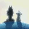 Mond (Wolf und Ziege)