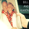 You know who I am sillies....: Bill and Karen Wedding