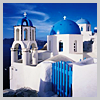 Feliz: Perfect blue buildings