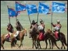 mongols on parade