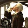 Beckett drinking