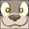 cute ferret face