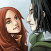 Lily: Snape and Lily cute