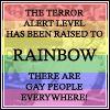 terror alert - rainbow