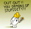Dogbert - Stupidity Demons