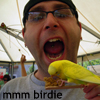 eating a bird
