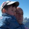 с сыном Тимофеем