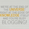 Dr Who - Busy blogging!