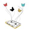 ellyn speaks out:: stock: cassette butterflies