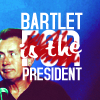 Bartlet is the President