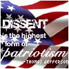 Dissent = Patriotism