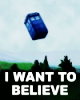 jacksrubberduck: i want to believe - TARDIS doctor who
