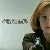 Laura: Scully will fuck your shit up
