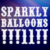snake eyes and deja vu: Text Sparkly Balloons!!!