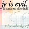 [WTF] JE is evil