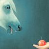rogue equestrian: horse + apple = love