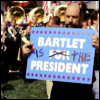 Nanou: tww_Bartlet is the President
