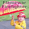 Ursula Messerschmitt: Gerhardt-Flamewar Firefighter
