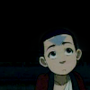 Aang grew hair.