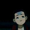 Aang grew hair.
