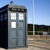 tried to eat the safe banana: TARDIS