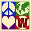 peace&love NO war